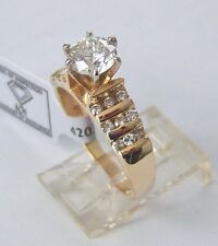 1.36 CT. ROUND LAB CERTIFIED AND APPRAISED ENGAGEMENT DIAMOND RING