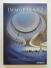 Immofinanz Geschäftsbericht 2008 2009