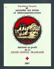 FRANCE - FRANCIA - Libretto - 1967 - Pro Croce Rossa. Statue in avorio