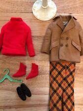 Ken Brad clothes Mod Plaid 1970 #1433 Play it Cool Best Buy Vintage Barbie COMP