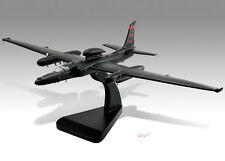 Lockheed U-2 Dragon Lady Solid Kiln Dried Mahogany Wood Desktop Airplane Model