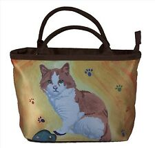 Cat Handbag- Small Purse - Yes, Salvador Really Does Paint!