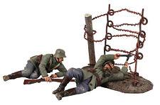 """Britains soldados WW 1"""" pasando por el alambre - 23100 Metal Militar Limitado Nuevo"""