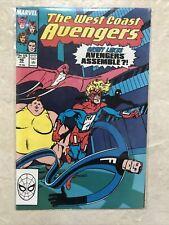 West Coast Avengers Issue 46 1st Great Lake Avengers Appearance Marvel Comics 89