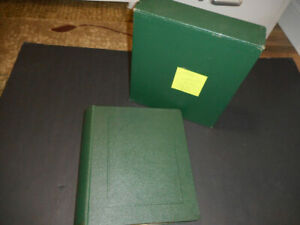 US MNH collection in Scott Album with slip cover 1950 to 1984 Face $128.01