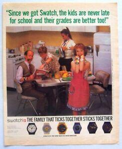 SWATCH 1985 promo ADVERT