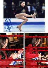 ELIZAVETA TUKTAMYSHEVA signed 8X10 PHOTO D - PROOF - Figure Skating COA