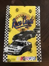 1991 Maxx NASCAR Race Cards Box ~ Trading Card ~ New/Sealed