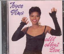 "JOYCE SIMS  ""All About Love""  NEW DJ/DANCE CD"