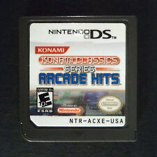 cart only KONAMI CLASSICS SERIES ARCADE HITS Nintendo DS US・✪・SHOOTER GRADIUS