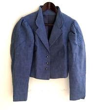 Damen Trachten Janker Jacke blau Gr. 38 v. Ursl Trachten