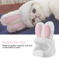 Soft Pet Dog Cat Hat Costume Funny Rabbit Ear Decoration Headwear Cute for Puppy