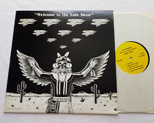 EAGLES w/Joe WALSH Welcome to the late show (Live Sydney 1976) USA LP EX
