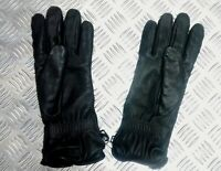 Genuine British Military Black Leather Combat Gloves MK2 MVP - Odd Pair