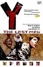 Y The Last Man Vol 1: Unmanned by Brian K. Vaughan & Pia Guerra TPB 2003 DC OOP