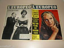 EUROPEO=1958/19=MARIA SCHELL=JOSEPHINE BAKER=SOPHIA LOREN=COCO CHANEL=YULBRYNNER