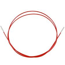 ChiaoGoo Twist Red Lace Interchangeable Cables 60cm.