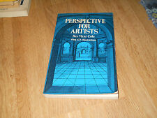 PERSPECTIVE FOR ARTISTS - REX VICAT COLE - DOVER PUBLICATIONS 1976  - (X2)