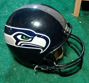 Franklin Youth Plastic SEATTLE SEAHAWKS Replica NFL Football Helmet For Play