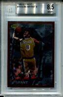 1996 '96 Finest Basketball 74 Kobe Bryant Rookie Card RC Graded BGS NM Mint+ 8.5