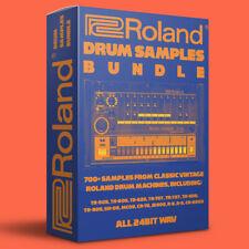 Roland Vintage Drum Machine Samples Bundle 700+ 24bit Wavs