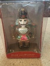"Fitz & Floyd 7"" Nutcracker ornament new in the box 2004"