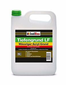 Isolbau Tiefengrund LF 5L - 300L Tiefgrund Haftgrund Gebrauchsfertig Wand Boden