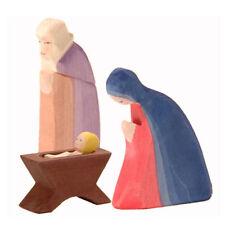 Ostheimer Krippenfiguren Heilige Familie 4-teilig classic I 12 - 14 cm groß