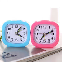 Practical Student /Work Home Compact Travel Quartz Beep Alarm Clock Cute