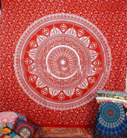 Indian Cotton Mandala Tapestry Hippie Hippy King Wall Hanging Bohemian Bedspread