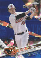 MARK TRUMBO 2017 TOPPS CHROME SAPPHIRE EDITION #616 ONLY 250 MADE