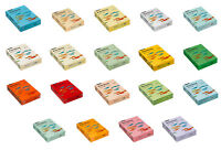 Rainbow Kopierpapier Papier Druckerpapier farbig bunt DIN A4 80g Farbe nach Wahl
