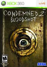 Komplette verurteilt 2: Bloodshot Xbox 360