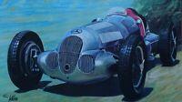 Edouard Kuhn: Mercedes (1926) - Lithografie Unterzeichnet Und Nummeriert #250ex#