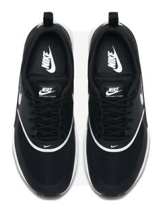 8 NIKE Viets Thea Black White Air Max Sneakers Joggers Trainers Add2UrList4Offer