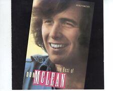 CD DON McCLEANthe best ofUS 1988 EX ( B2524)