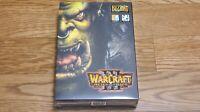 Rare WarCraft 3 Reign of Chaos Blizzard Korean Ver PC Windows Game DVD Collector
