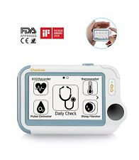 Advanced Portable EKG, Thermometer , Pulse, Oximeter, & Apnea Monitor