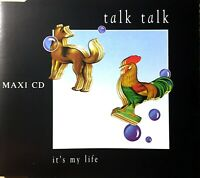 GERMANY EDITION CD MAXI TALK TALK IT'S MY LIFE RARE COMME NEUF 1990