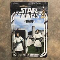 Custom Star Wars Knight Luke Sky walker Action Figure Fantasy Dragon Castle Jedi