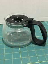 Mr Coffee Carafe 4 cup Decanter replacement Black Pot