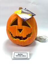 RARE VINTAGE *NEW* TRENDMASTERS Pumpkin Halloween Light Blow Mold Jack-O-Lantern