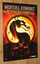 Mortal Kombat  Armageddon / Unchained very rare Poster 58x39cm