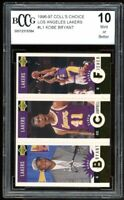 1996-97 Coll's Choice Los Angeles Lakers #L1 Kobe Bryant Rookie BGS BCCG 10 Mint