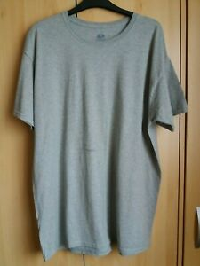 Mens Fruit of the Loom Platinum T-Shirt Grey Size Large