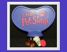 Littlest Pet Shop HEART REPLACEMENT PART TURN KEY BLUE PURPLE BIGGEST HOUSE