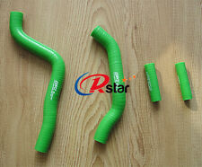 Silicone Radiator Hose FOR KAWASAKI KX125 KX 125 05 06 07 2005 2006 2007 GREEN