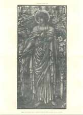 1888 Design For Stained Glass, Aldington Church, Kent, Shrigley Hunt