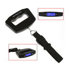 50kg/10g Portable Digital LCD Electronic Hand Held Luggage Balance Scale Weight