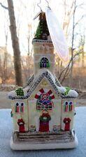 Christopher Radko Christmas Church Ornament Keeping the Faith, #1018252 New